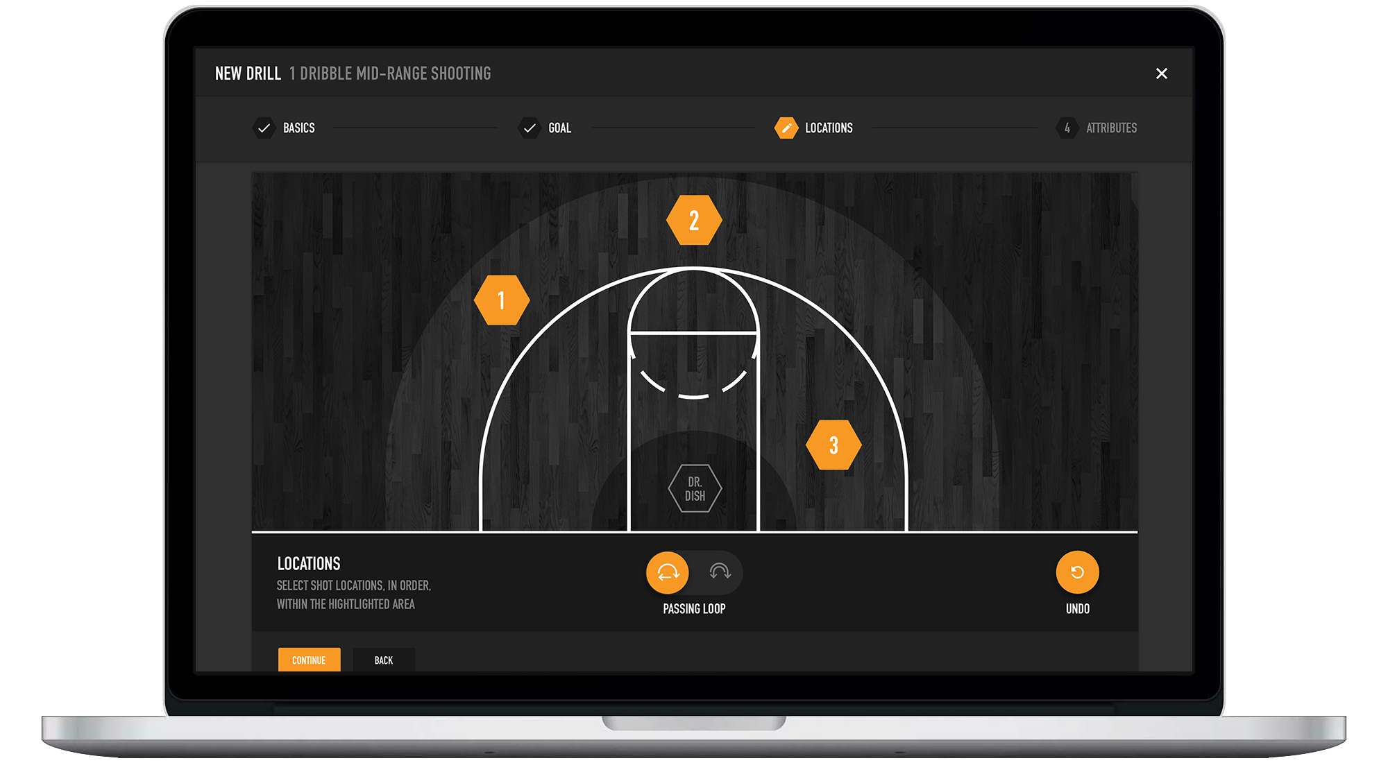 Build Drills on Dr. Dish Basketball Shooting Machines